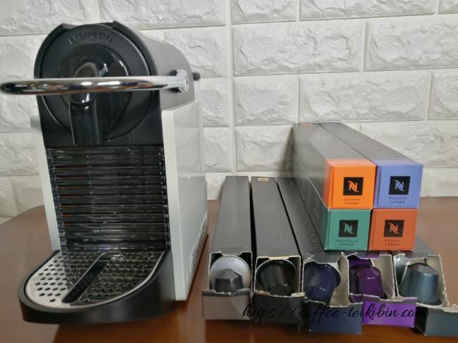 ブラックコーヒーの種類が多いのはネスプレッソ